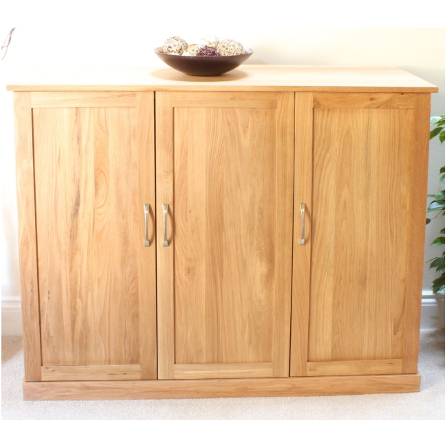 Foyer Shoe Storage Furniture : Mobel solid oak extra large shoe cupboard hallway hall