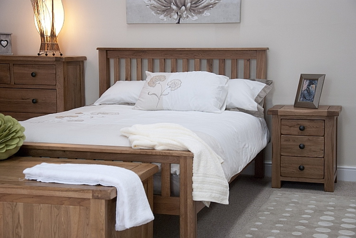 beds oak beds and rustic on tilson solid rustic oak bedroom furniture 5 king size bed 8166