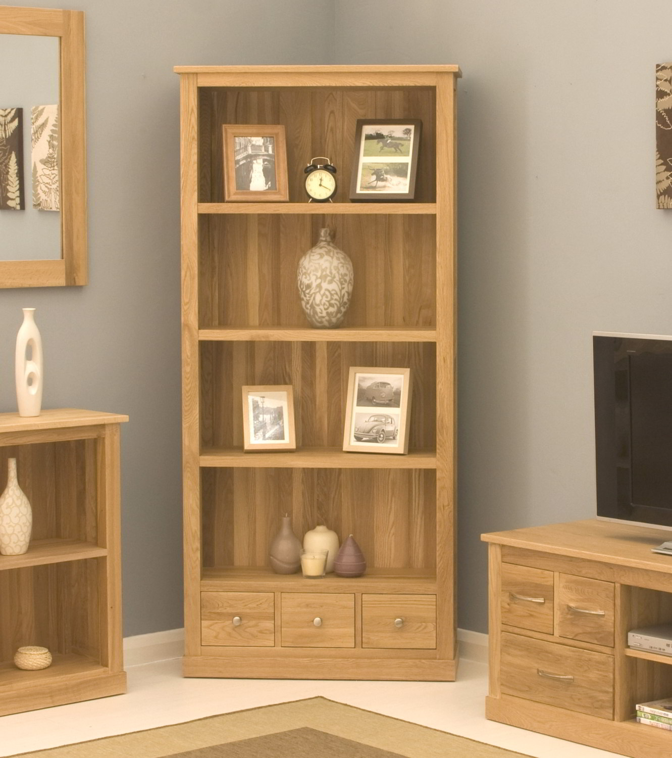 living room bookshelves conran solid oak modern furniture large office living room 10256