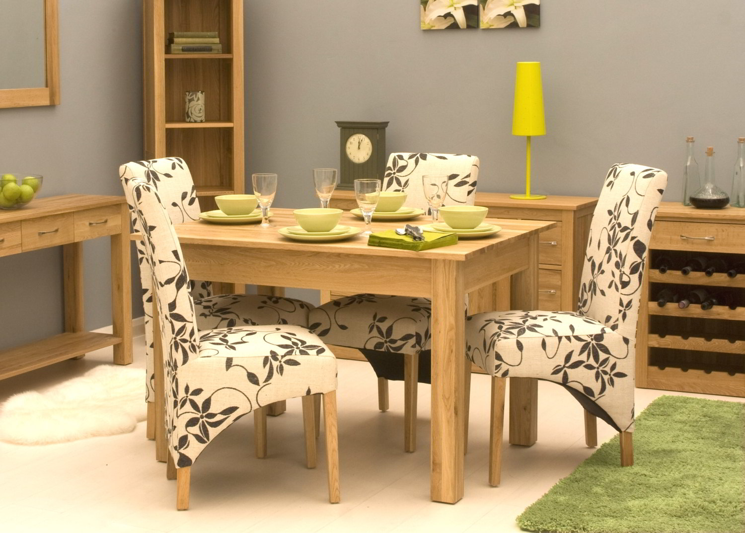 527c4fe219c Details about Conran solid oak modern furniture small four seater dining  table