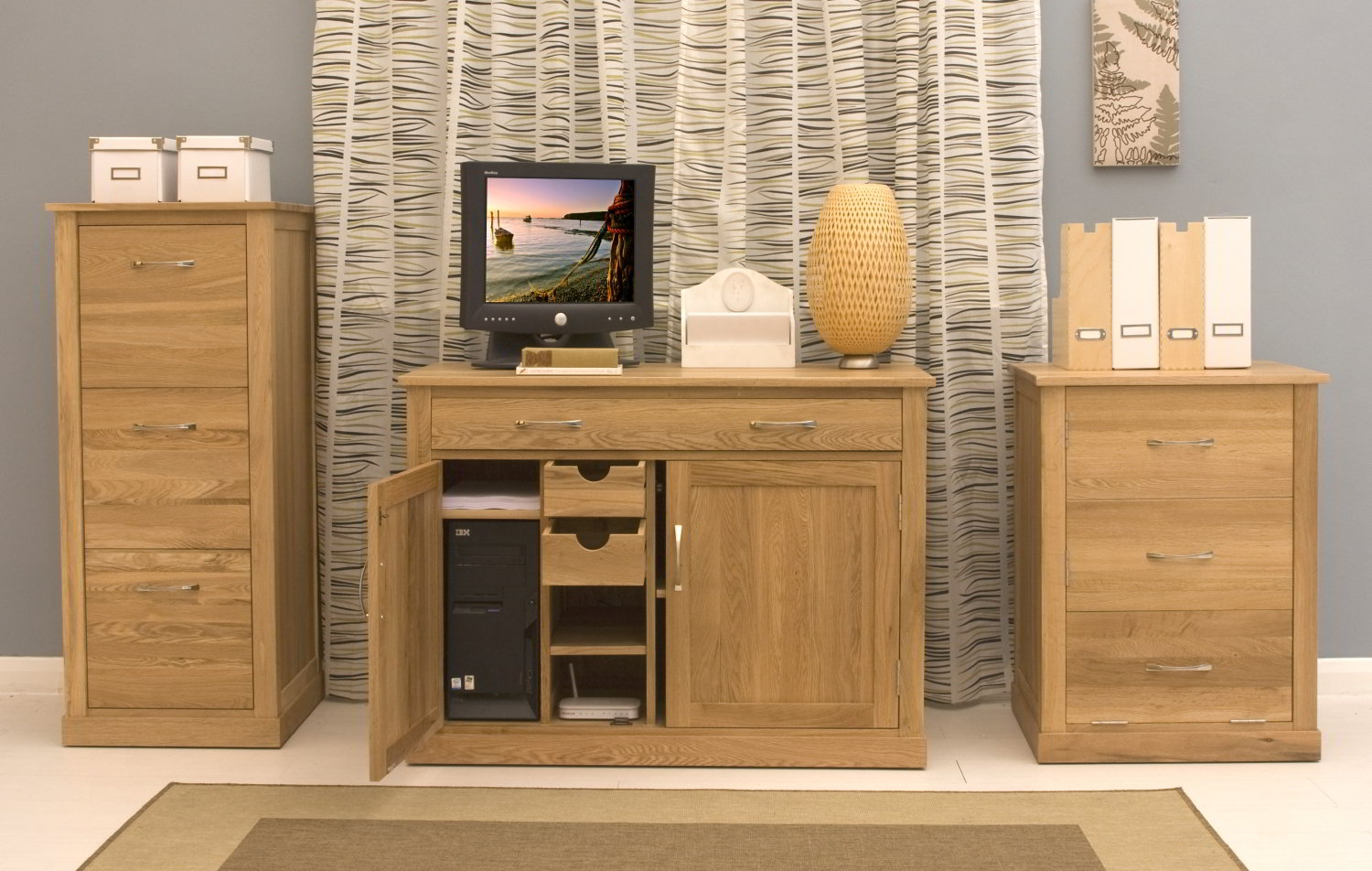 home office hideaway. Plain Hideaway Conran Solid Oak Modern Furniture Home Office Hideaway Inside F