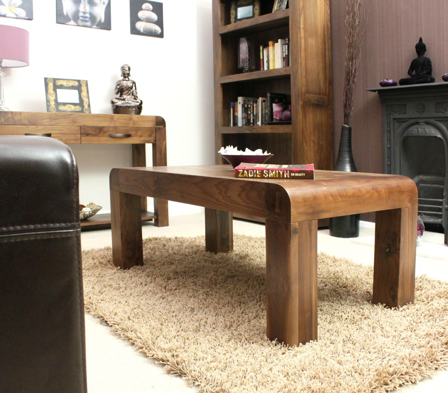 Strathmore Solid Walnut Home Furniture Living Room Coffee Table