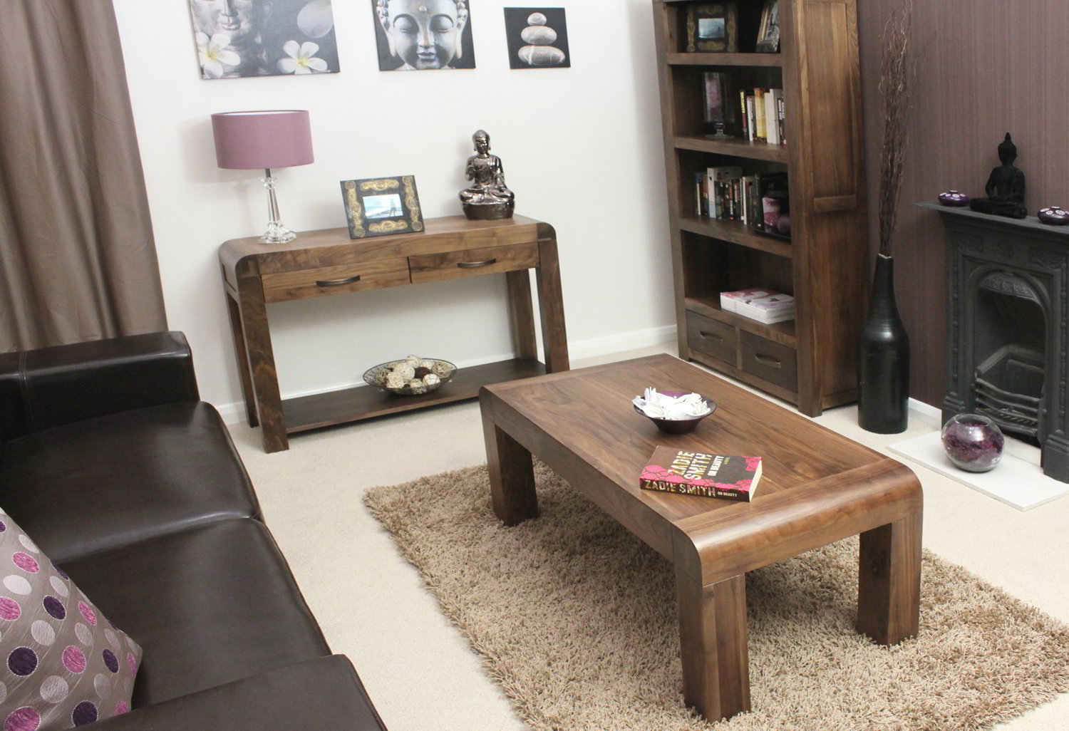 Strathmore Solid Walnut Home Furniture Living Room Furniture Coffee Table