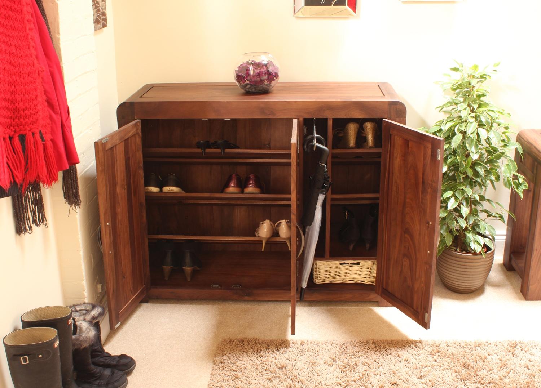 strathmore solid walnut furniture shoe cupboard cabinet. strathmore solid walnut furniture shoe cupboard cabinet large hallway storage
