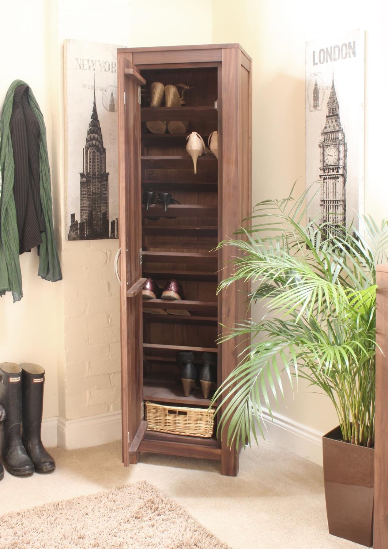 strathmore solid walnut furniture shoe cupboard cabinet. linea solid walnut furniture shoe cupboard cabinet tall hallway storage unit strathmore